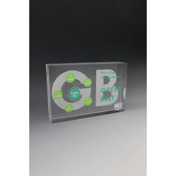 trophée tombstone plexiglass