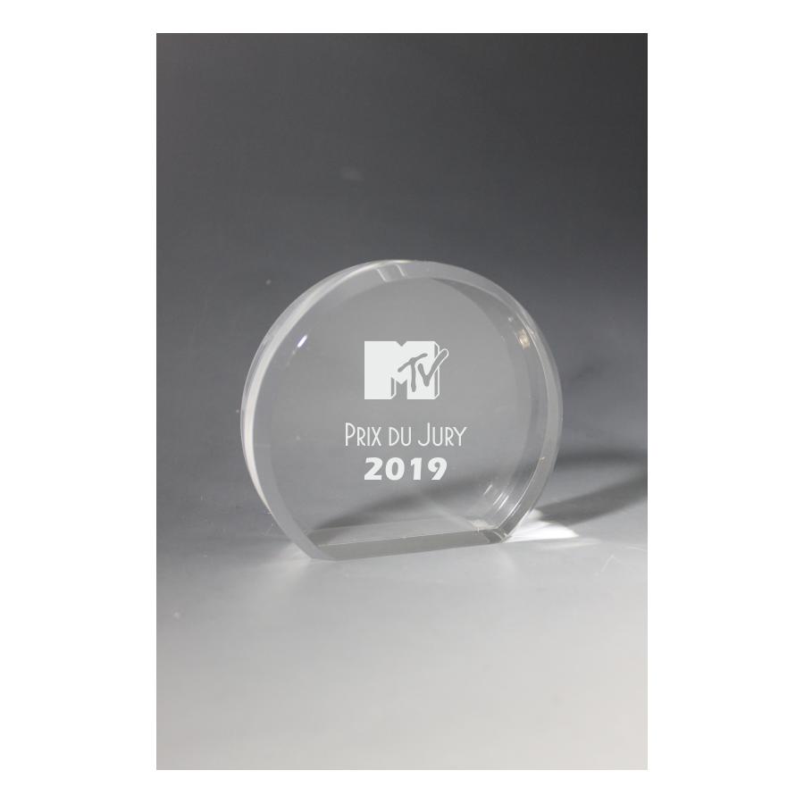 Mini trophée plexiglass
