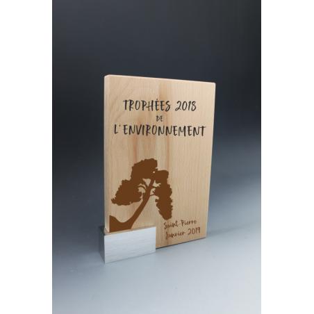 Trophée Bois métal New