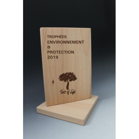 Trophée Bois Rectangle