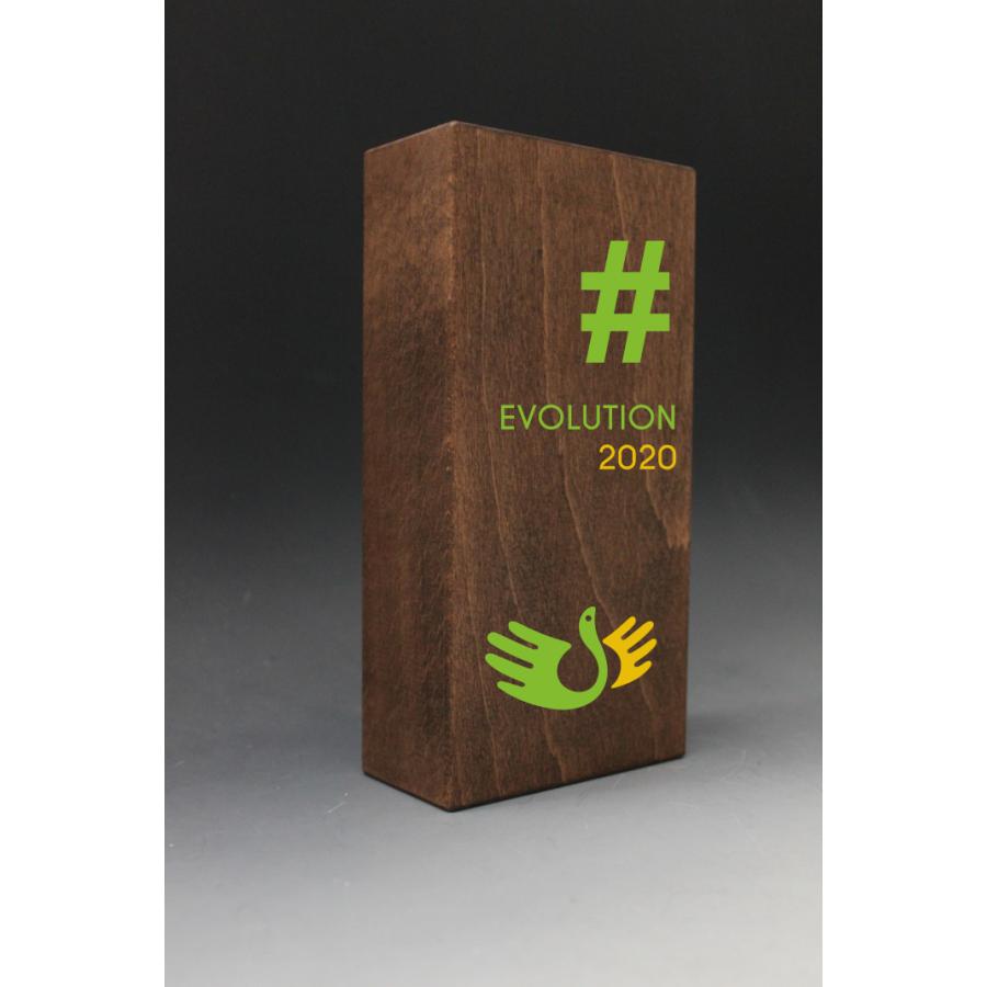 trophée en bois