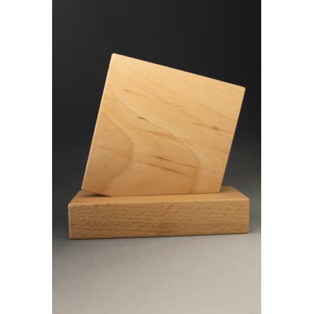 trophée en bois  personnalisé délo