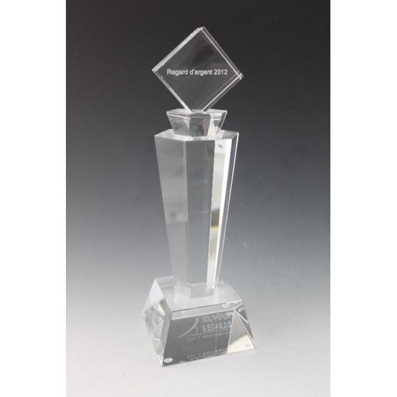 trophée verre parfum