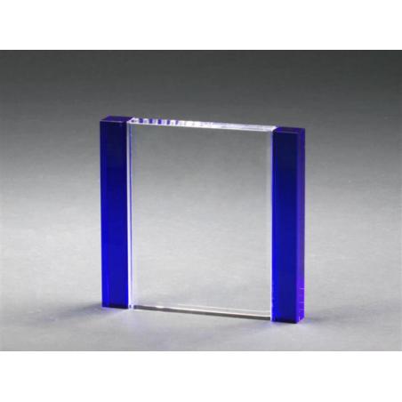 trophée verre bleu 1136