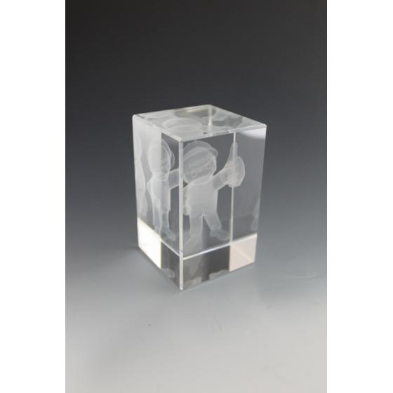 Bloc de verre 5x5x8 CM