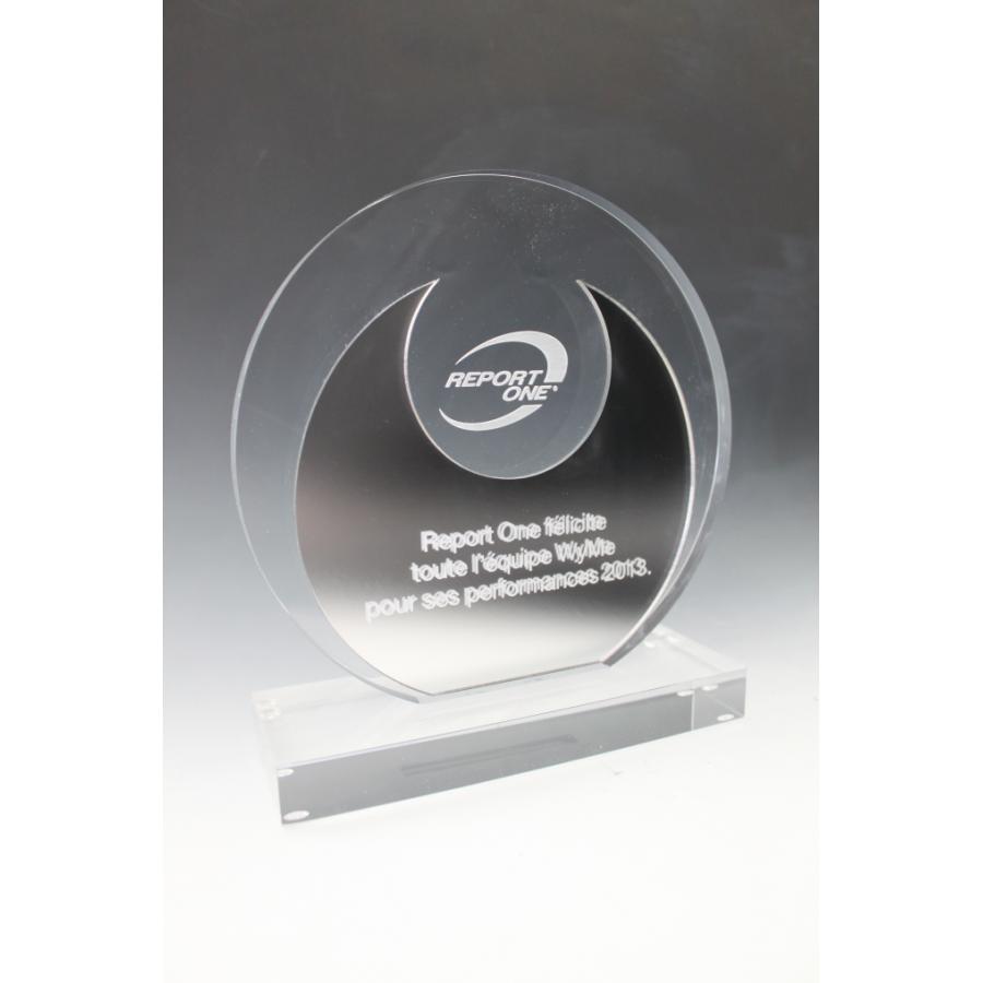 Trophée plexiglass Victoire