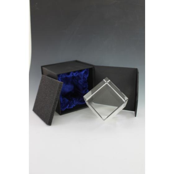 Cube en verre 6X6X6X6 cm