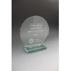 trophée en verre GALERIES LAFAYETTE tryje 2014