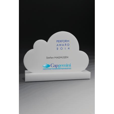 trophée cloud plexiglass tryje