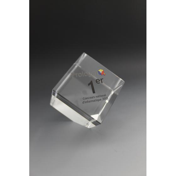 trophée verre