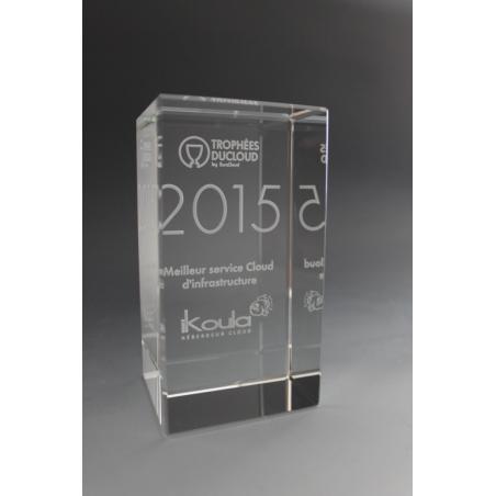 trophée 1066 en verre