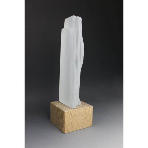 Sculpture en verre Ice par Tryje