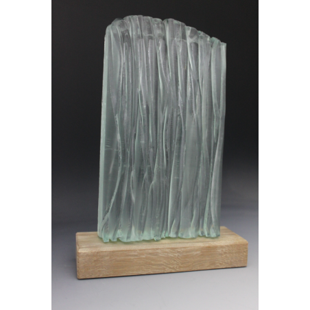 Sculpture en verre Cascade 3