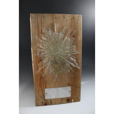 sculpture verre Convergence