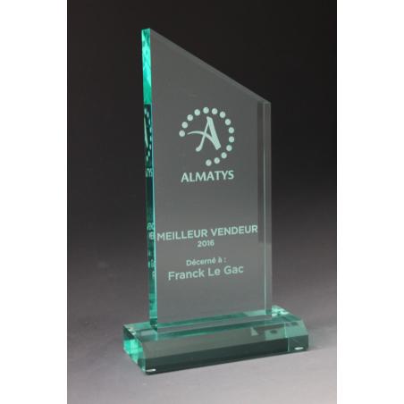 trophée personnalisé plexiglass