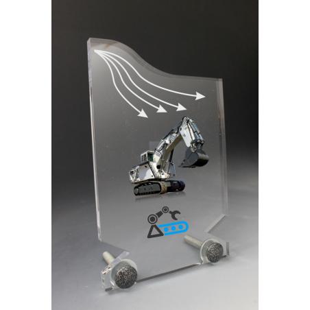 trophée plexiglass industrie