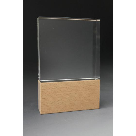 trophée  verre carré duo
